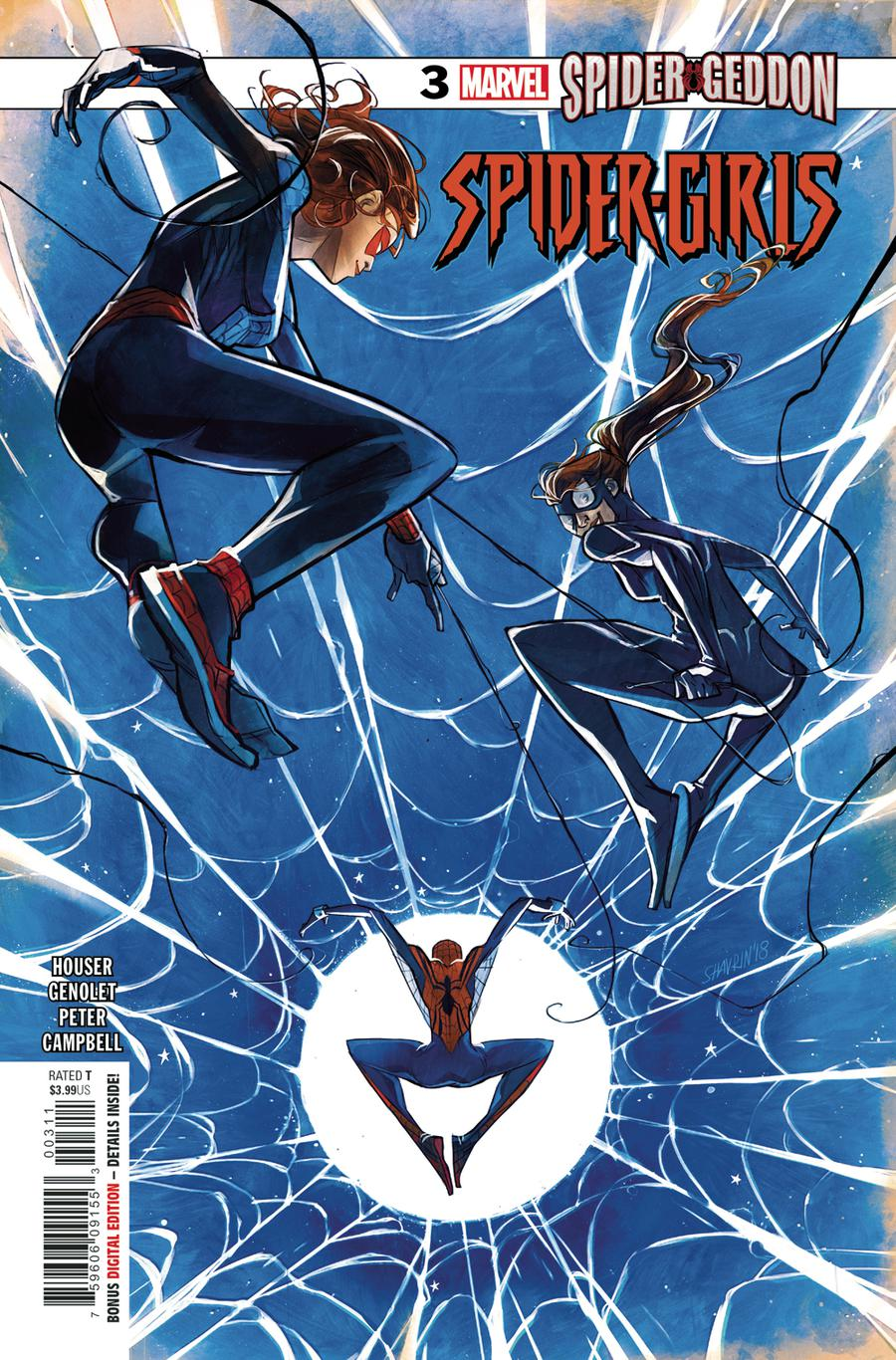 Spider-Girls #3 Cover A Regular Yasmine Putri Cover (Spider-Geddon Tie-In)