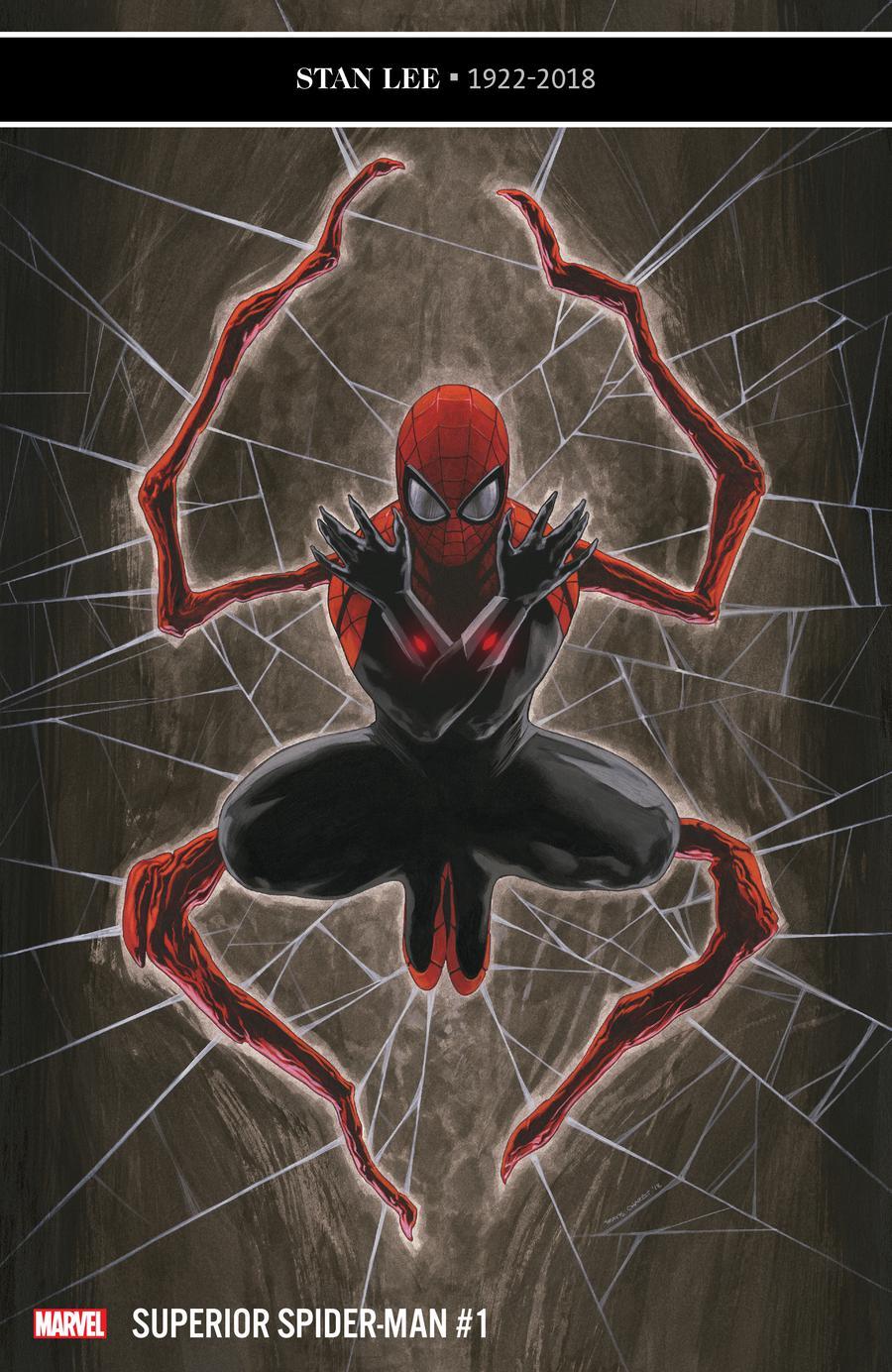 Superior Spider-Man Vol 2 #1 Cover A 1st Ptg Regular Travis Charest Cover (Spider-Geddon Tie-In)