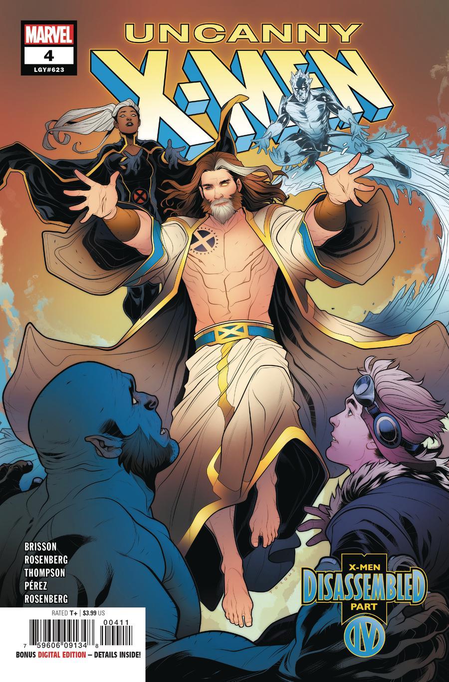 Uncanny X-Men Vol 5 #4 Cover A 1st Ptg Regular Elizabeth Torque Cover