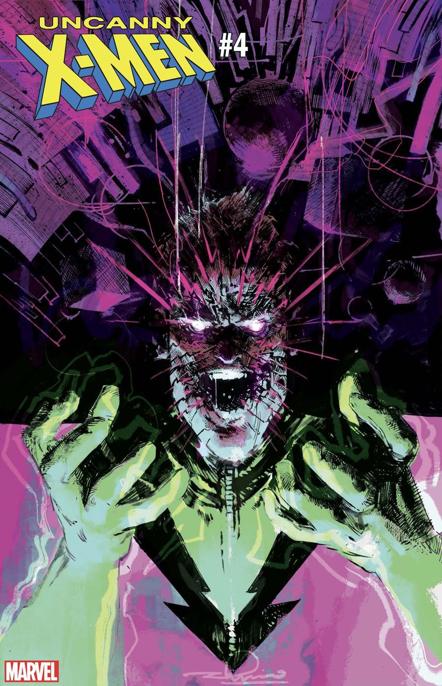 Uncanny X-Men Vol 5 #4 Cover C Variant Gerardo Zaffino Fantastic Four Villains Cover