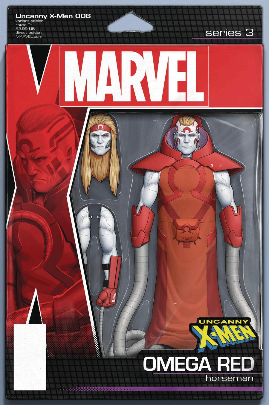 Uncanny X-Men Vol 5 #6 Cover B Variant John Tyler Christopher Action Figure Cover