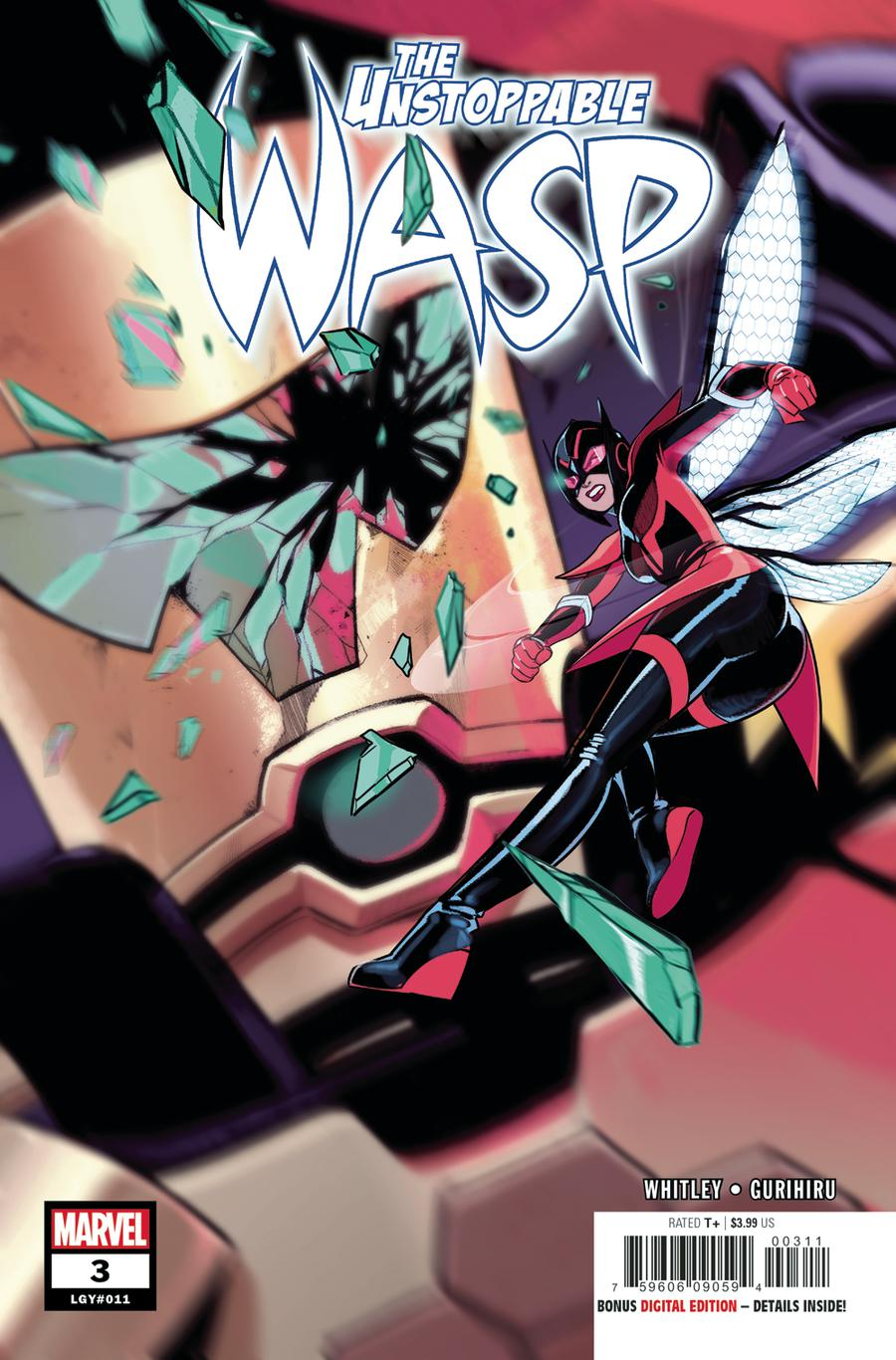 Unstoppable Wasp Vol 2 #3