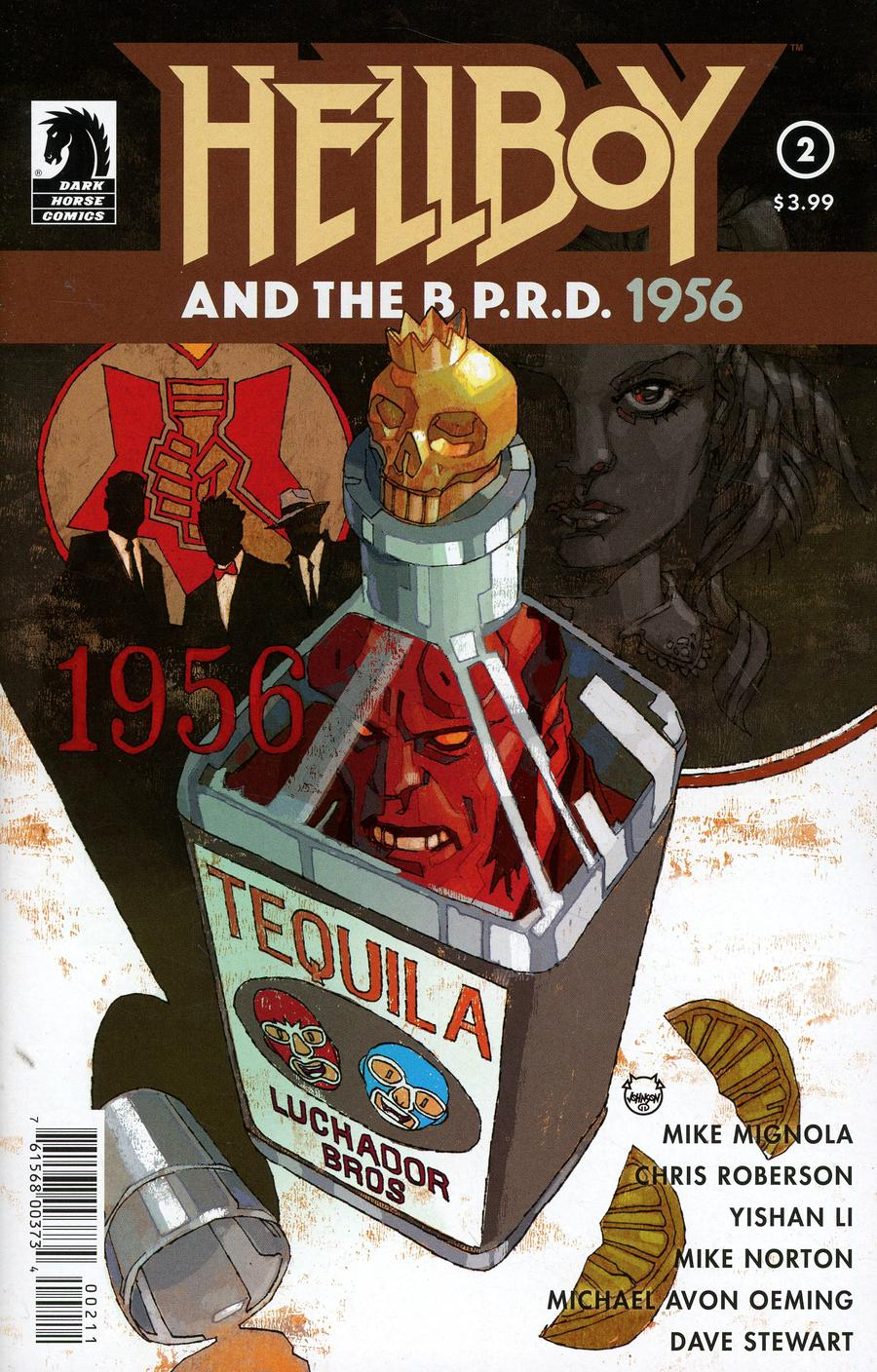 Hellboy And The BPRD 1956 #2