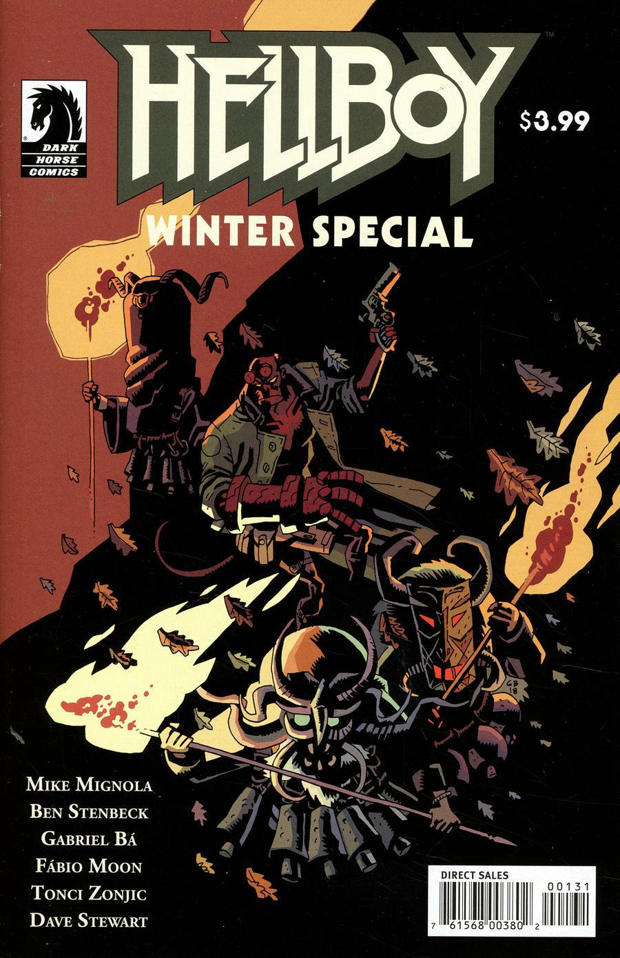 Hellboy Winter Special 2018 Cover C Variant Gabriel Ba Cover