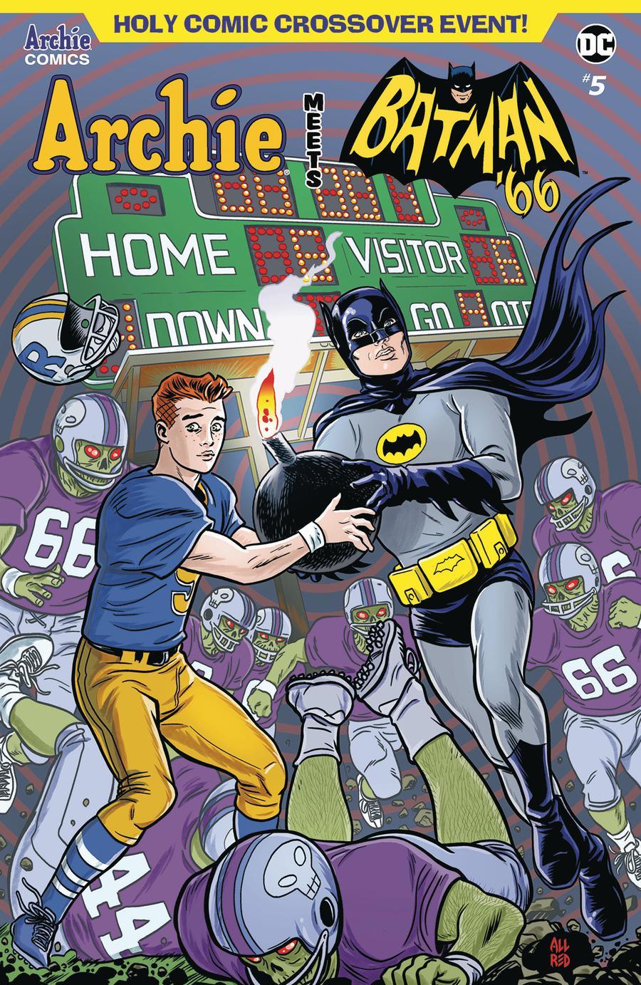 Archie Meets Batman 66 #5 Cover A Regular Michael Allred & Laura Allred Cover