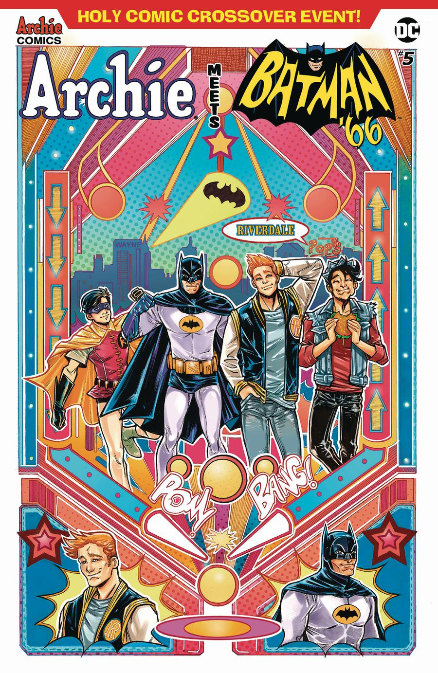 Archie Meets Batman 66 #5 Cover B Variant Laura Braga Cover