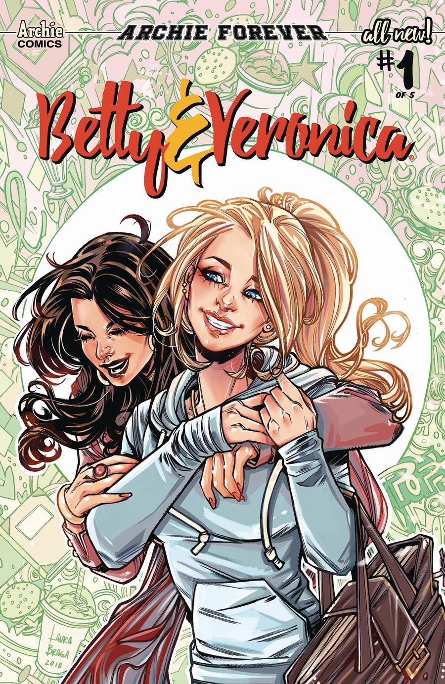Betty & Veronica Vol 3 #1 Cover B Variant Laura Braga Cover