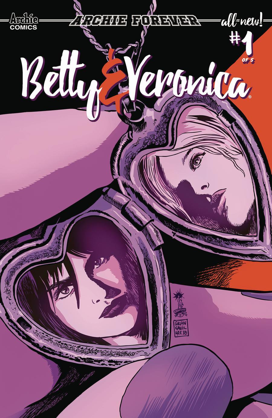 Betty & Veronica Vol 3 #1 Cover C Variant Francesco Francavilla Cover