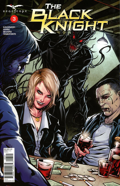 Grimm Fairy Tales Presents Black Knight #3 Cover D Riveiro