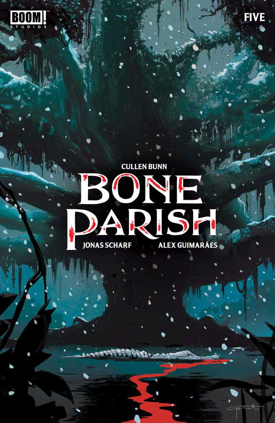 Bone Parish #5 Cover A Regular Lee Garbett Cover