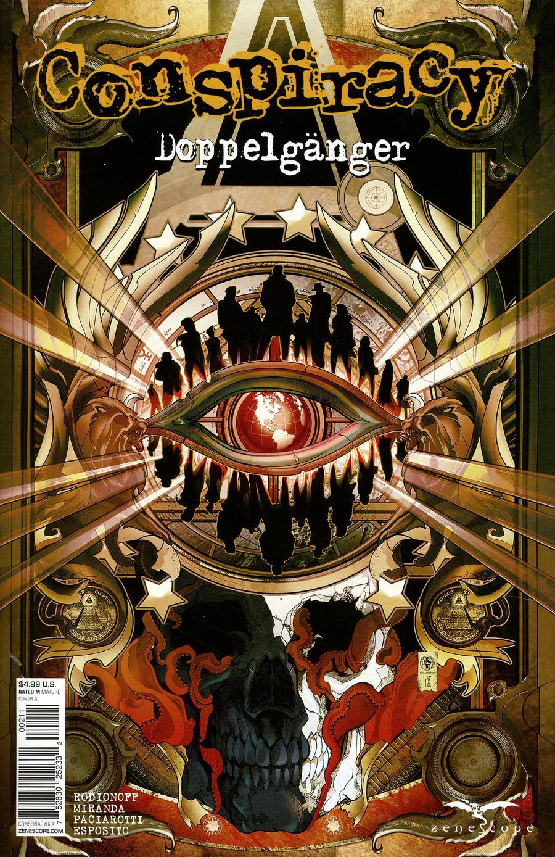 Conspiracy (Zenescope) #2 Doppelganger Cover A Leonardo Colapietro
