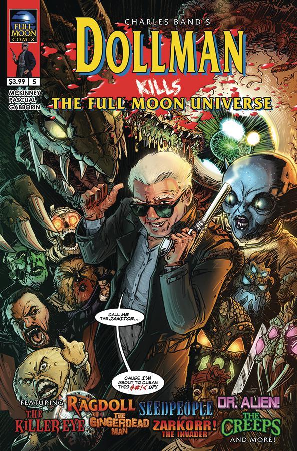 Dollman Kills The Full Moon Universe #5 Cover A Regular Jason Strutz Cover