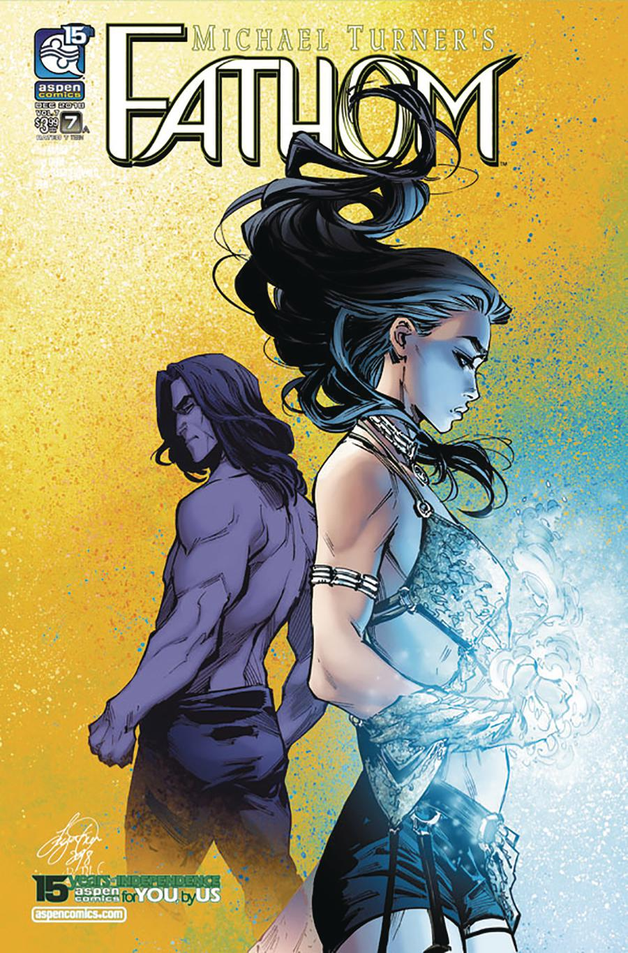 Fathom Vol 5 #7 Cover A Regular Siya Oum Cover