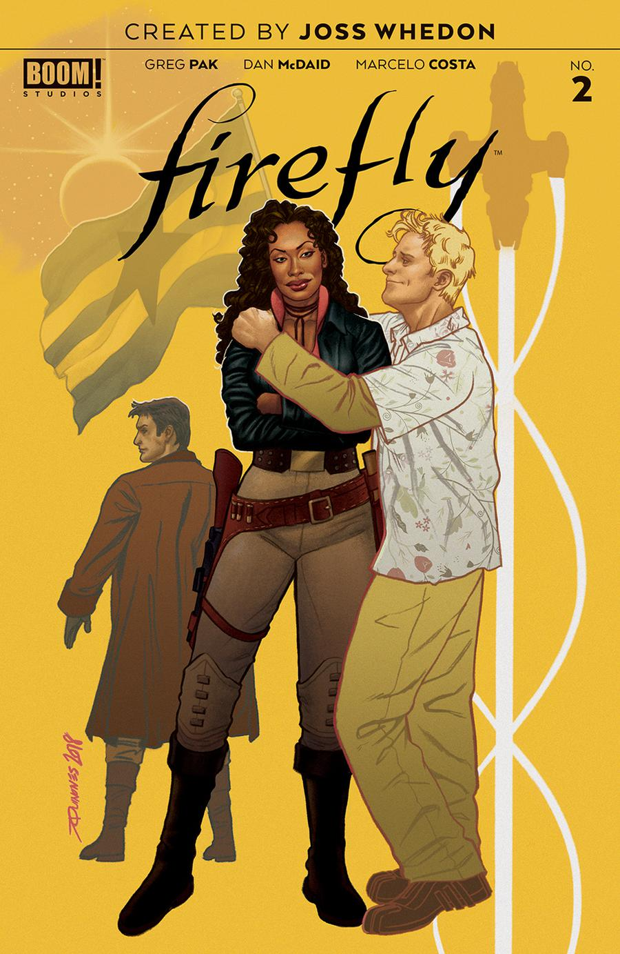 Firefly #2 Cover B Variant Joe Quinones Preorder Cover