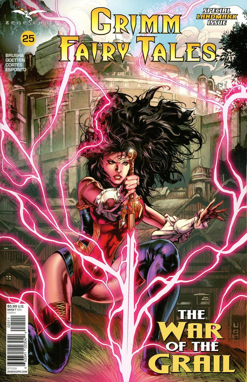 Grimm Fairy Tales Vol 2 #25 Cover A