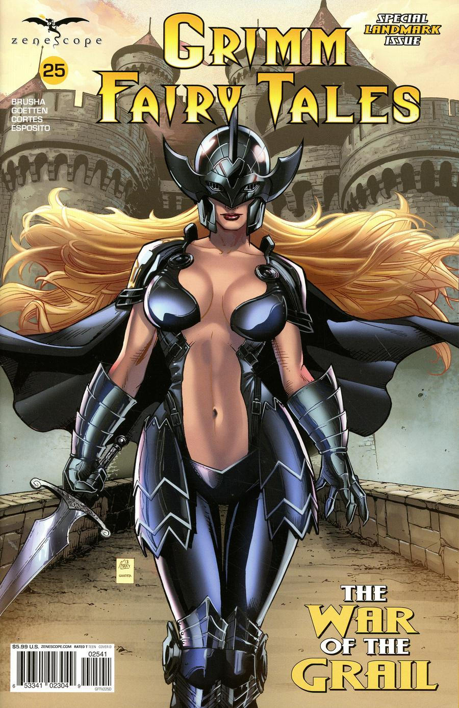 Grimm Fairy Tales Vol 2 #25 Cover D Anthony Spay