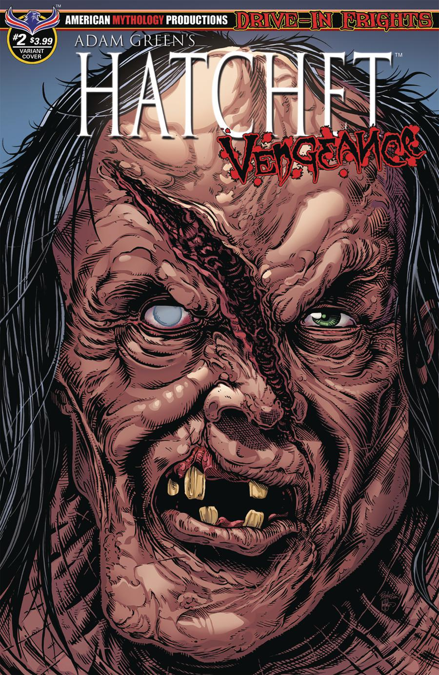 Adam Greens Hatchet Vengeance #2 Cover B Variant Buz Hasson & Ken Haeser Curse Of Crowley Cover