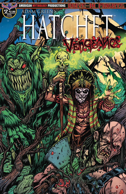 Adam Greens Hatchet Vengeance #2 Cover A Regular Puis Calzada Voodoo Cover