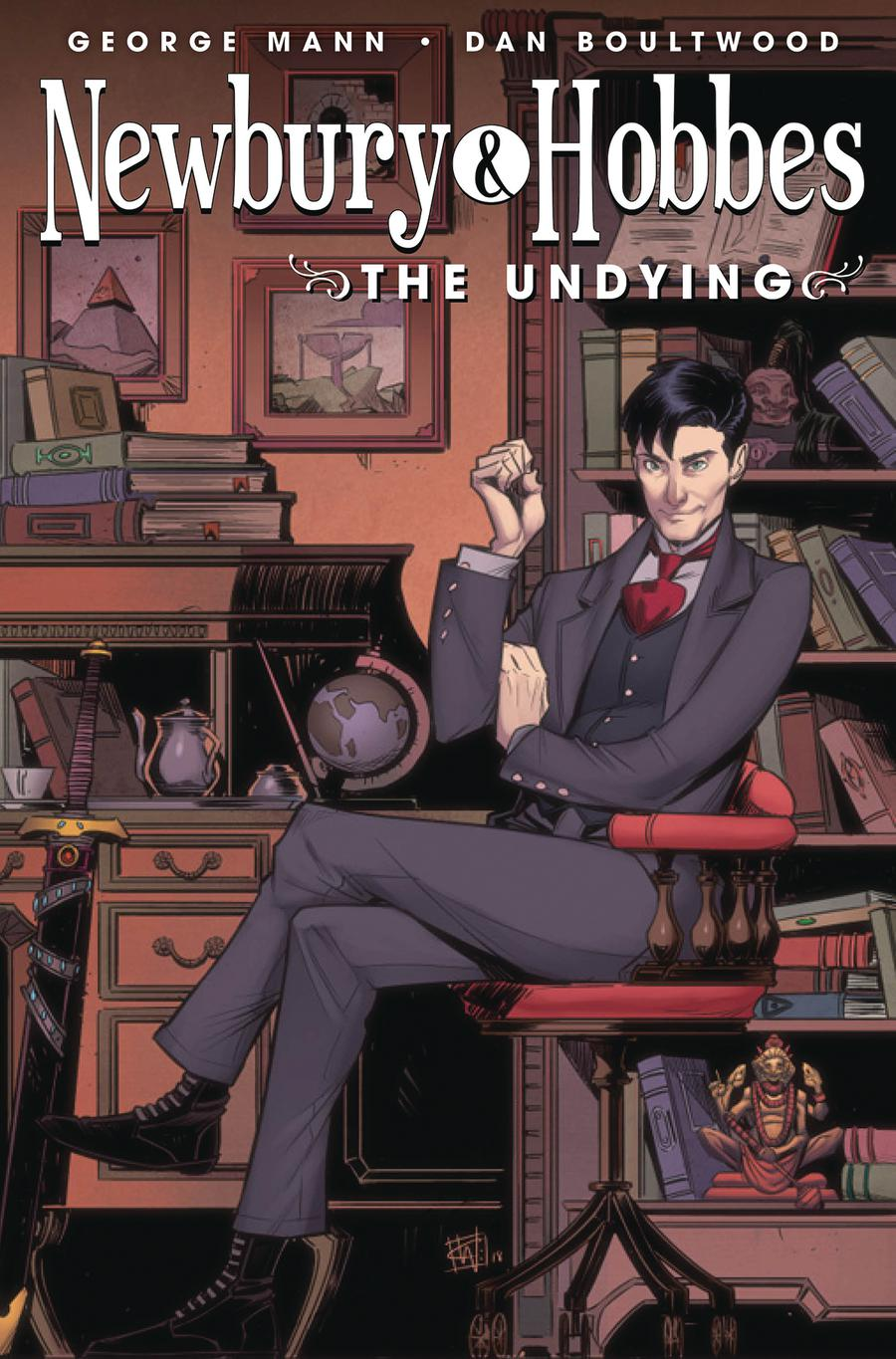 Newbury & Hobbes The Undying #4 Cover B Variant Chris Wildgoose Cover