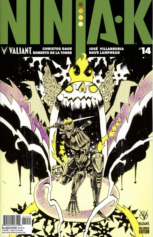 Ninja-K #14 Cover C Variant Jim Mahfood Cover