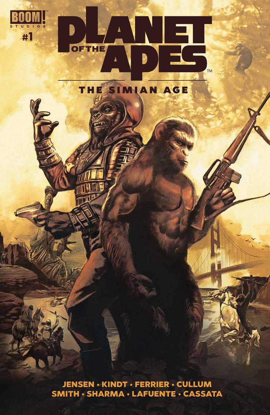 Planet Of The Apes Simian Age #1 Cover A Regular Fay Dalton & John Keaveney Cover