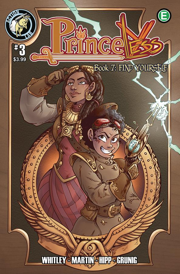 Princeless Find Yourself #3 Cover A Regular Cover