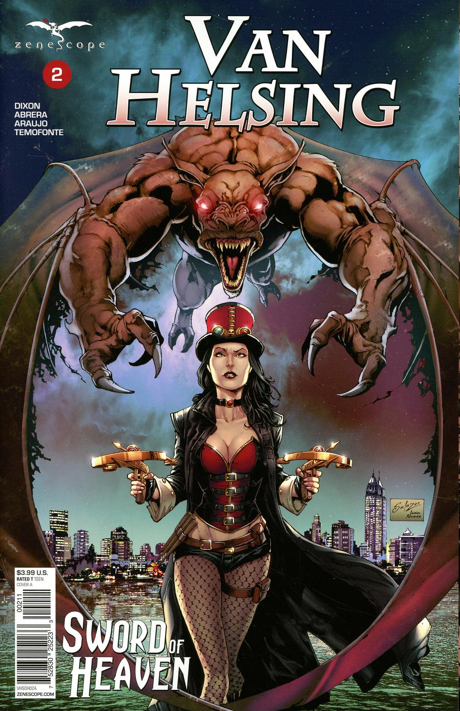 Grimm Fairy Tales Presents Van Helsing Sword Of Heaven #2 Cover A Edgar Salazar