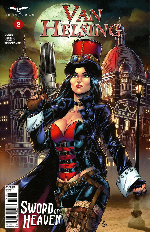 Grimm Fairy Tales Presents Van Helsing Sword Of Heaven #2 Cover C Hedwin Zaldivar