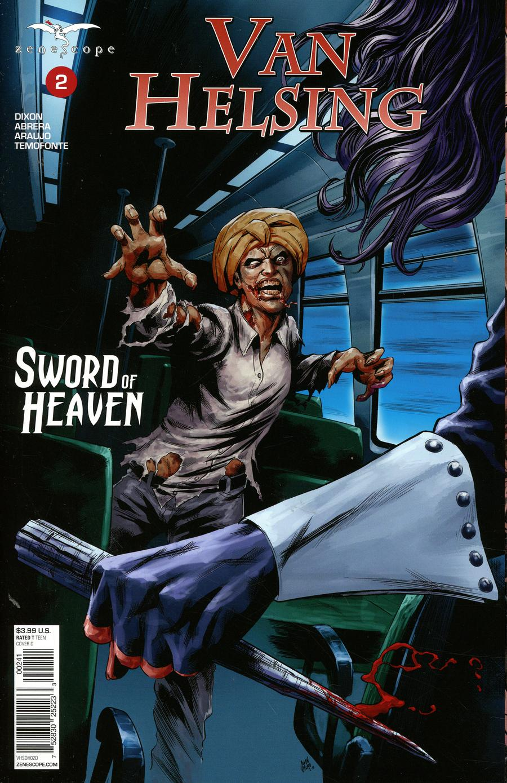 Grimm Fairy Tales Presents Van Helsing Sword Of Heaven #2 Cover D Allan Otero