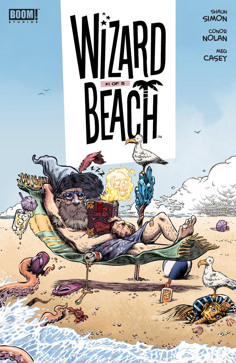Wizard Beach #1 Cover A Regular Conor Nolan Cover