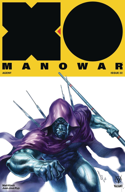 X-O Manowar Vol 4 #22 Cover B Variant Alan Quah Cover