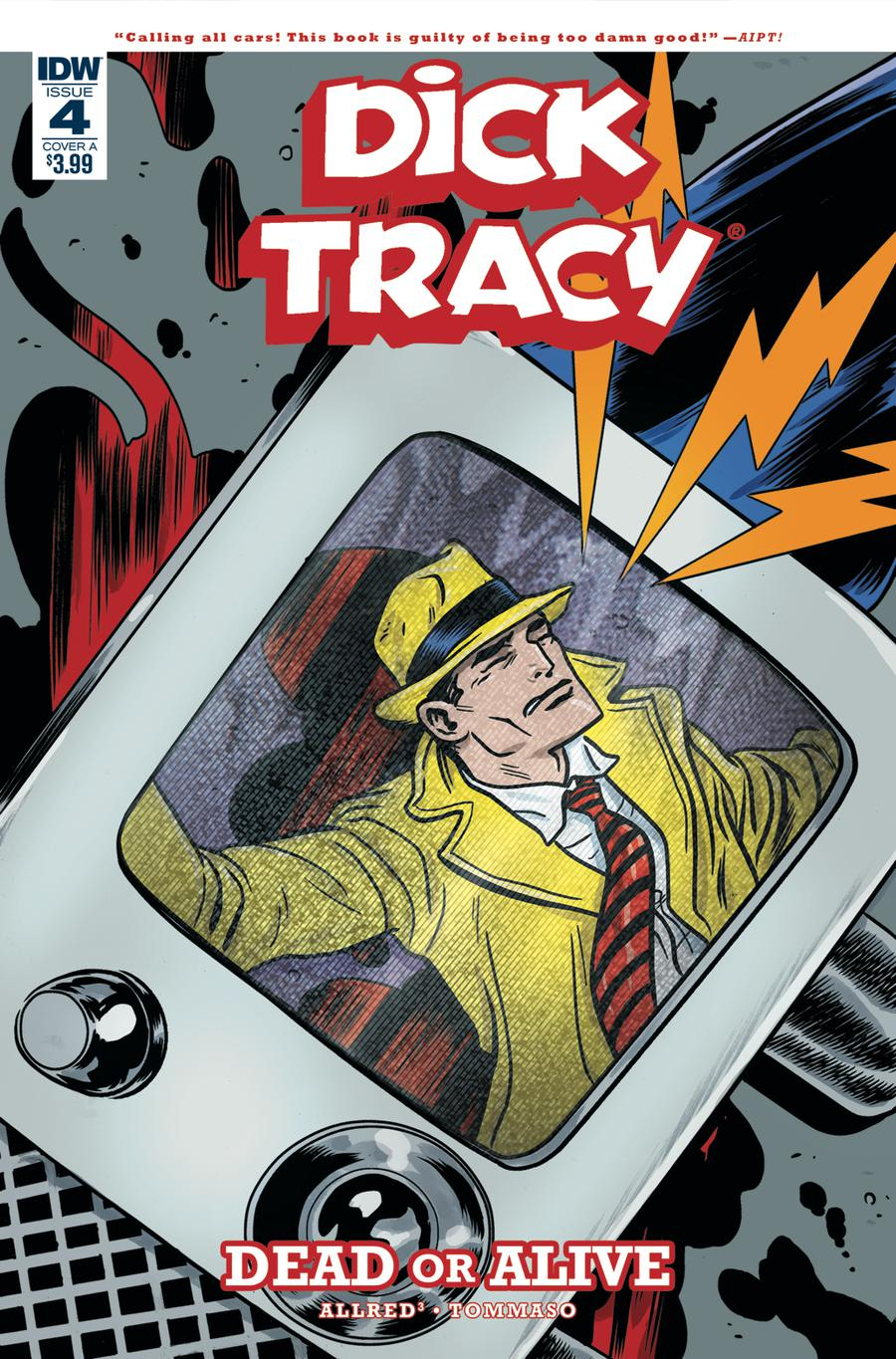 Dick Tracy Dead Or Alive #4 Cover A Regular Michael Allred Cover