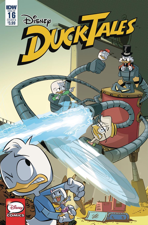 Ducktales Vol 4 #16 Cover B Variant Marco Ghiglione & Cristina Stella Cover
