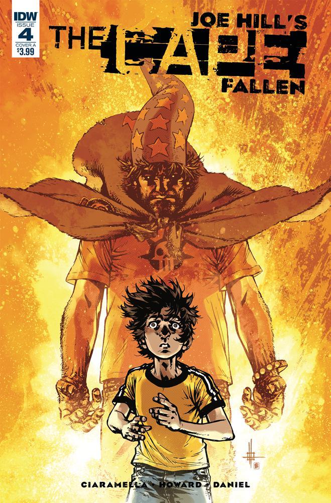 Joe Hills The Cape Fallen #4 Cover A Regular Zach Howard & Nelson Daniel Cover