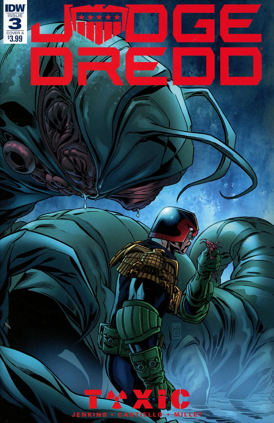Judge Dredd Toxic #3 Cover A Regular Mark Buckingham Cover