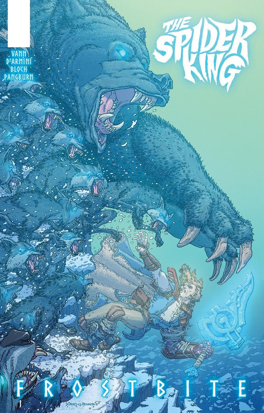 Spider King Frostbite One-Shot Cover B Variant Xurxo G Penalta Cover