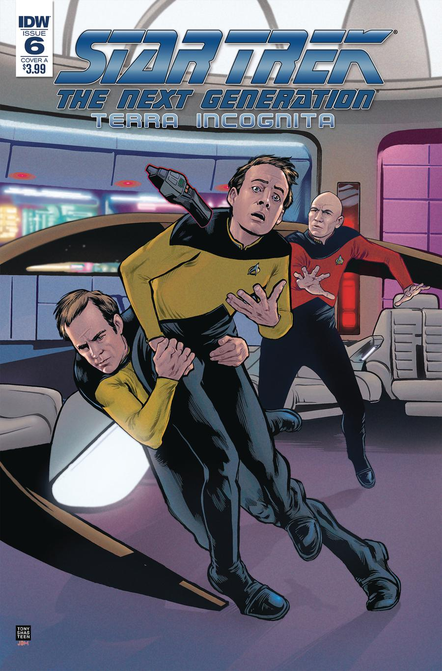 Star Trek The Next Generation Terra Incognita #6 Cover A Regular Tony Shasteen Cover