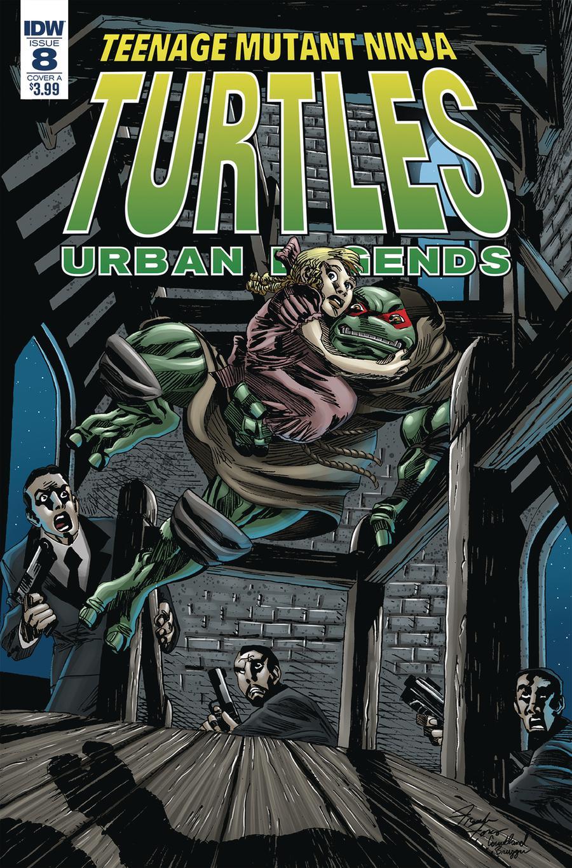 Teenage Mutant Ninja Turtles Urban Legends #8 Cover A Regular Frank Fosco Cover