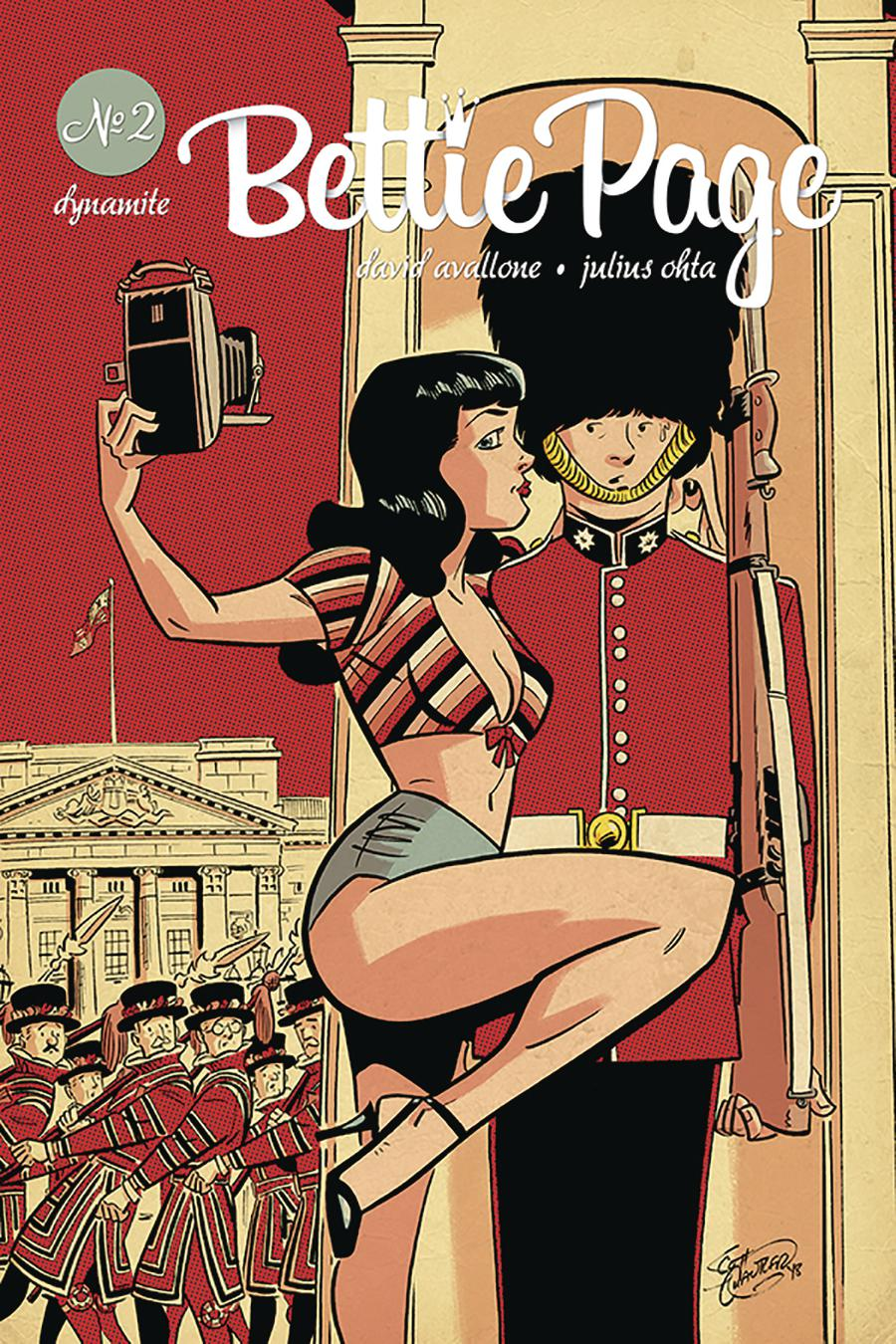 Bettie Page Vol 2 #2 Cover B Variant Scott Chantler Cover