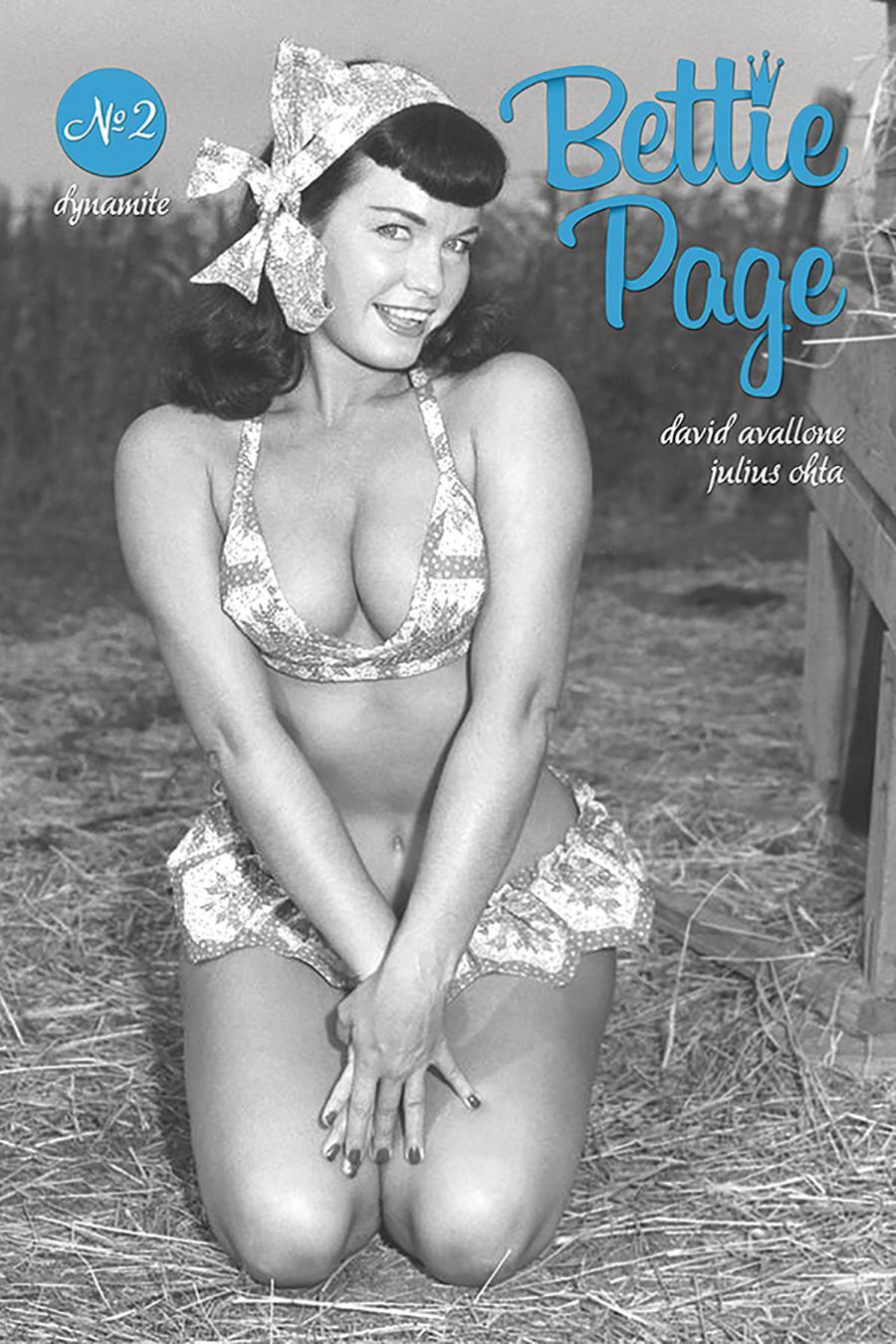Bettie Page Vol 2 #2 Cover E Variant Photo Cover