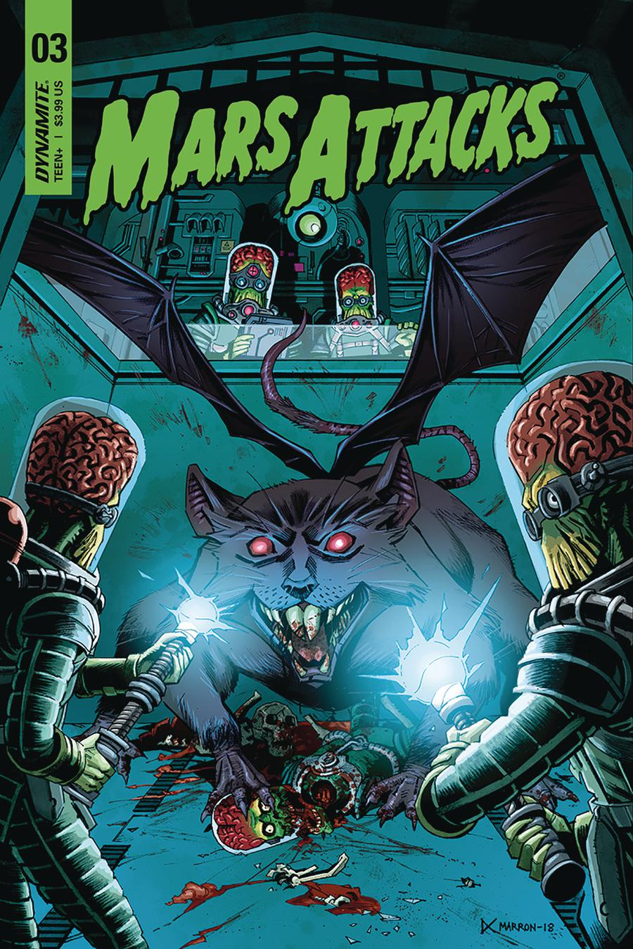 Mars Attacks Vol 4 #3 Cover C Variant Eoin Marron Cover