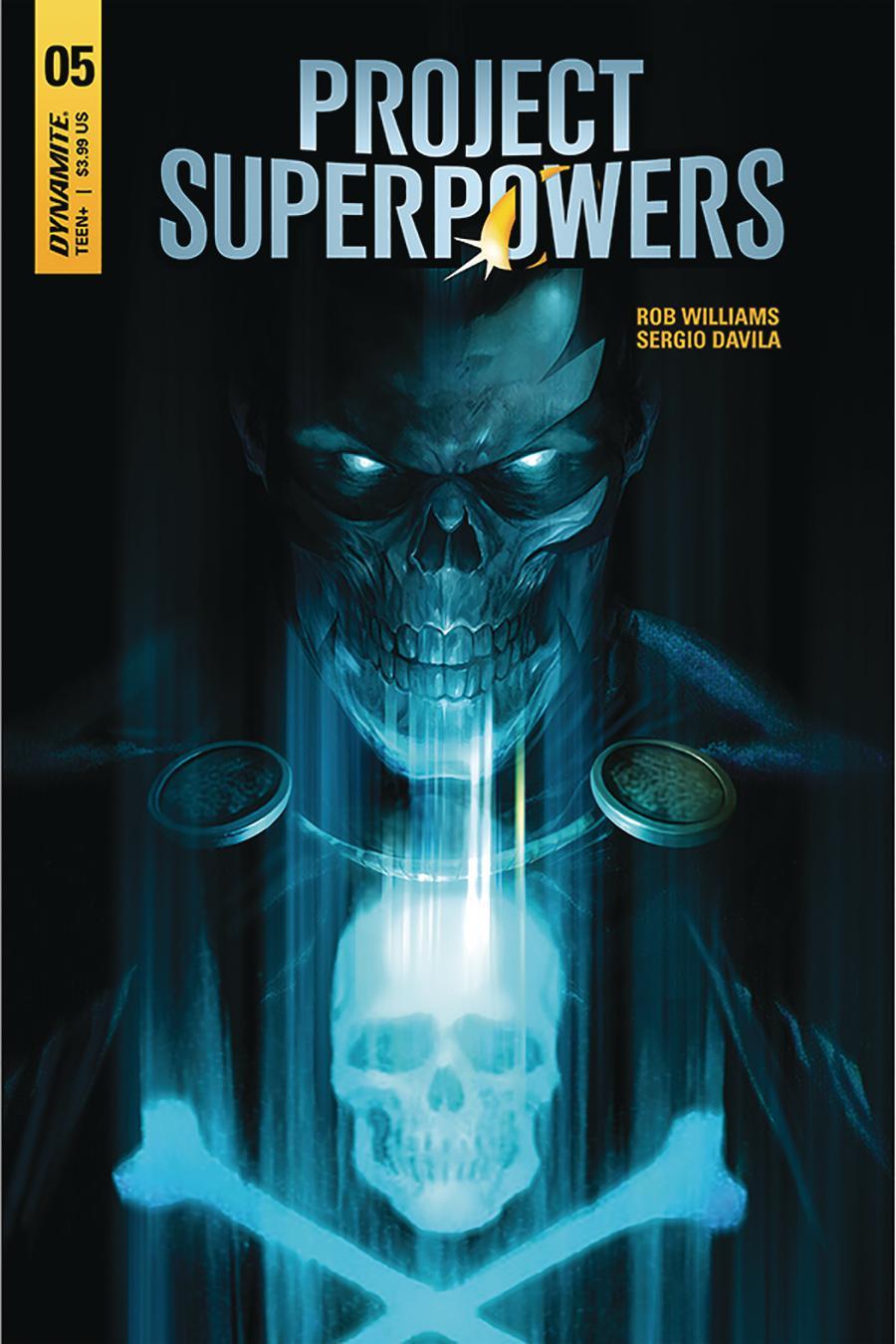 Project Superpowers Vol 3 #5 Cover A Regular Francesco Mattina Cover