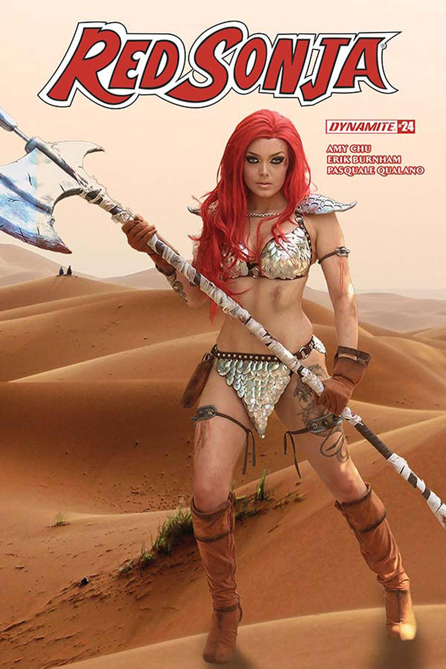 Red Sonja Vol 7 #24 Cover E Variant Cosplay Photo Subscription Cover