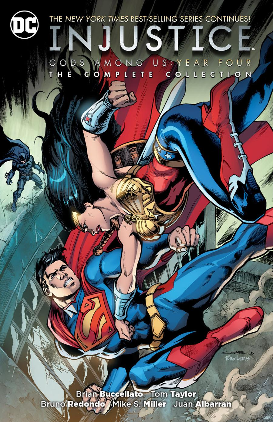 Injustice Gods Among Us Year Four Complete Collection TP