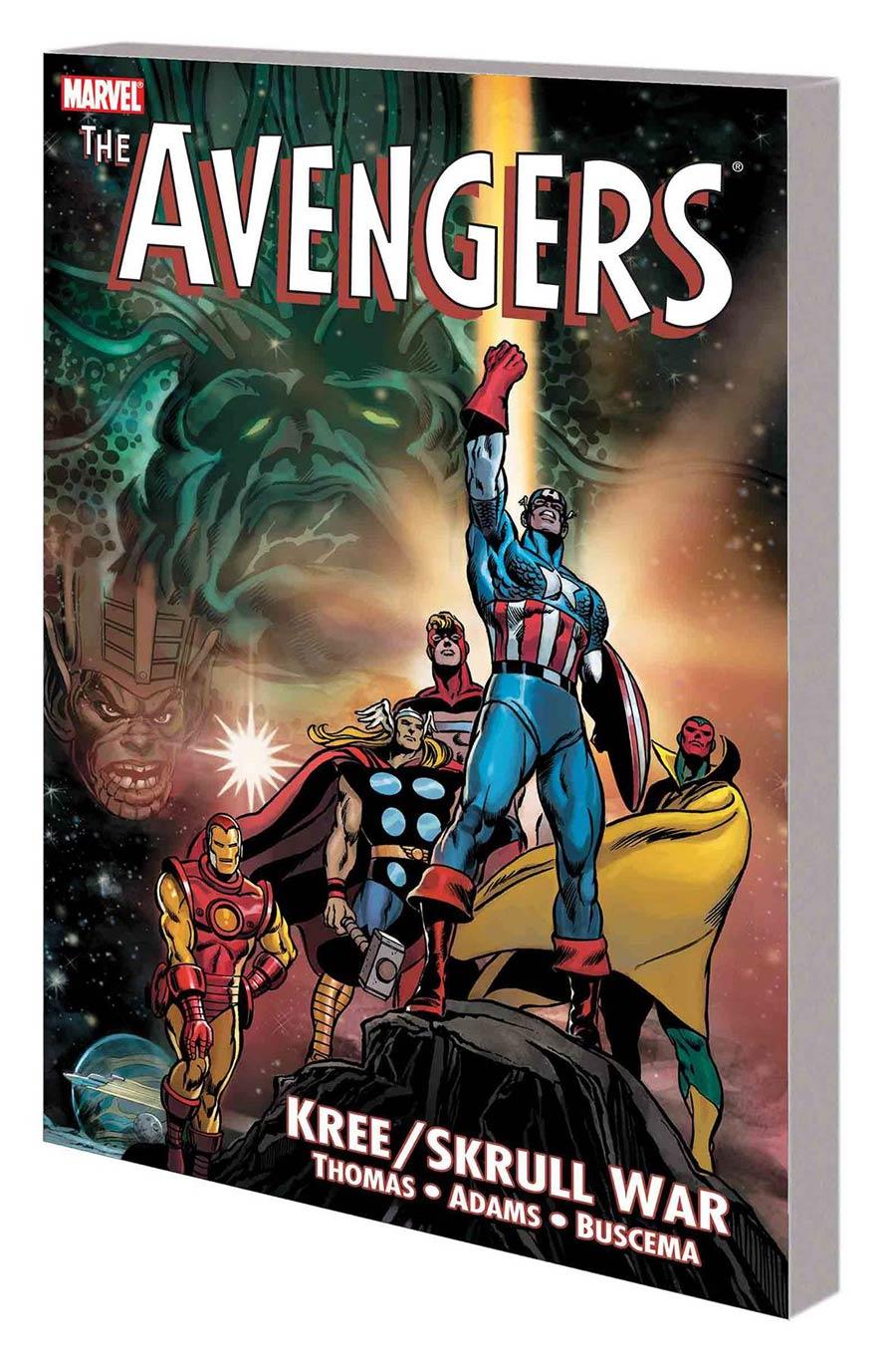 Avengers Kree Skrull War TP New Printing