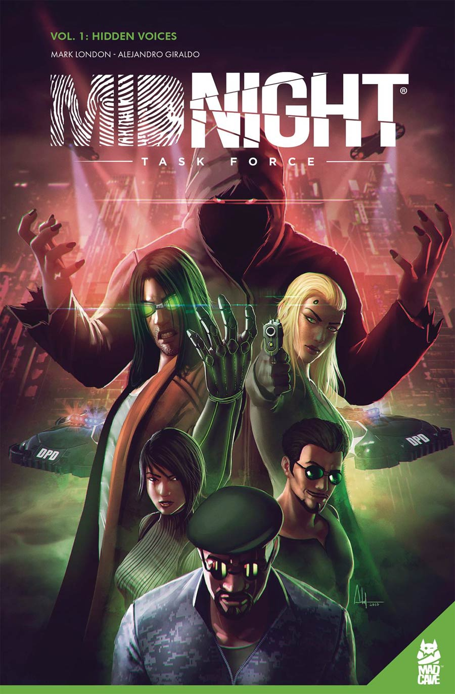 Midnight Task Force Vol 1 Hidden Voices TP