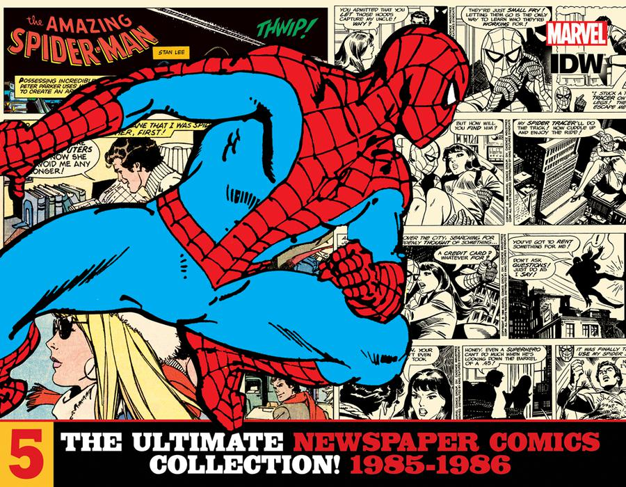 Amazing Spider-Man Ultimate Newspaper Comics Collection Vol 5 1985-1986 HC