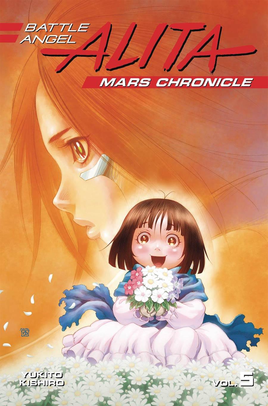 Battle Angel Alita Mars Chronicle Vol 5 GN