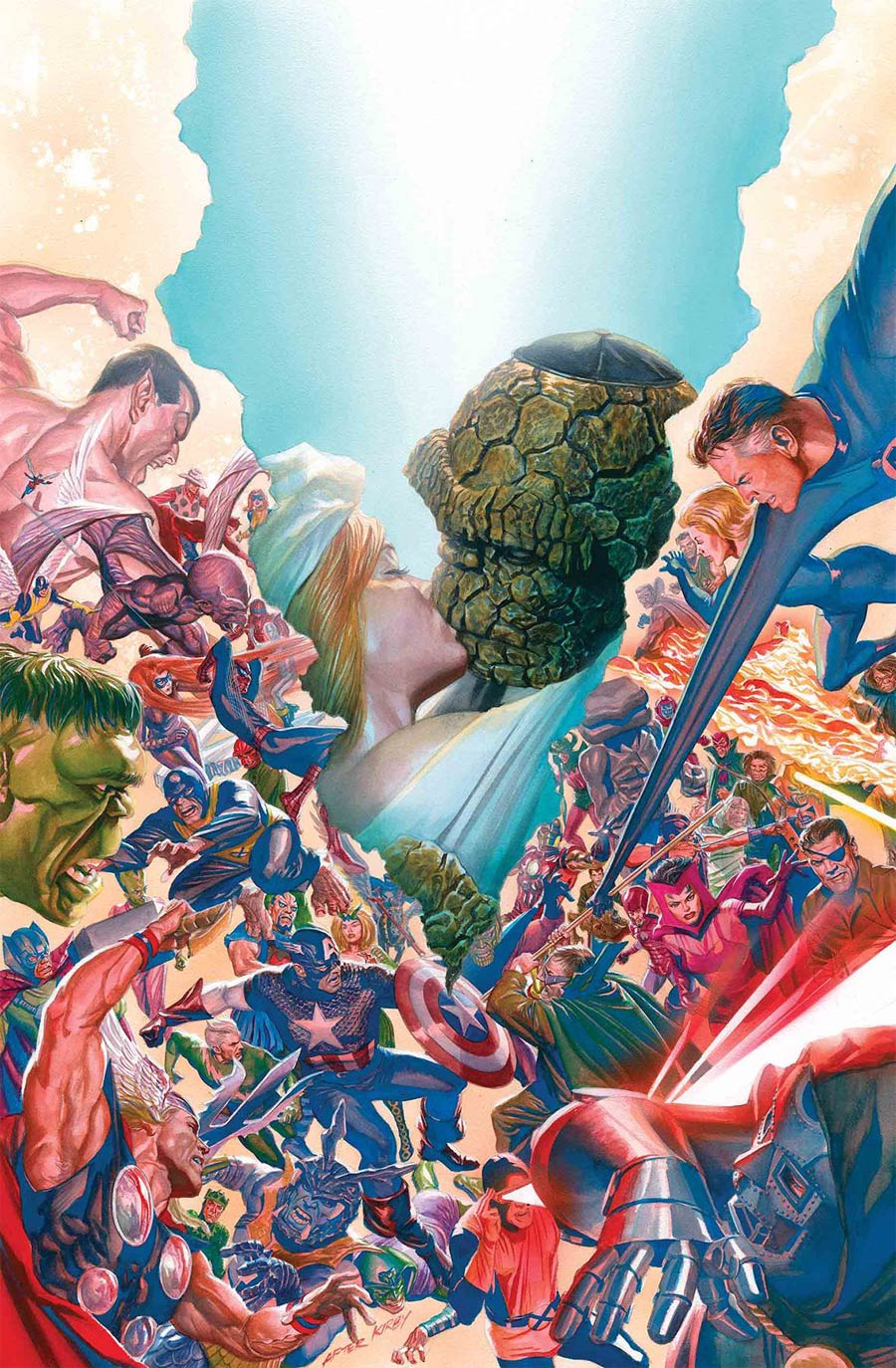 Fantastic Four Vol 6 #5 By Alex Ross Poster