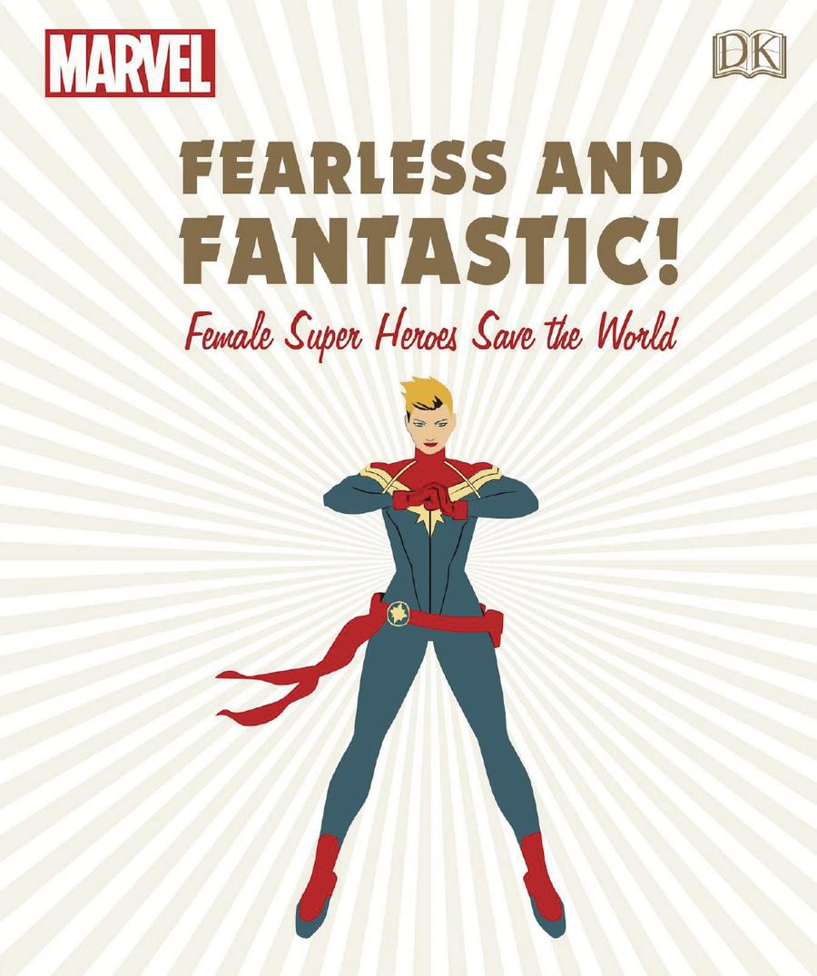 Marvel Fearless & Fantastic Female Super Heroes Save The World HC